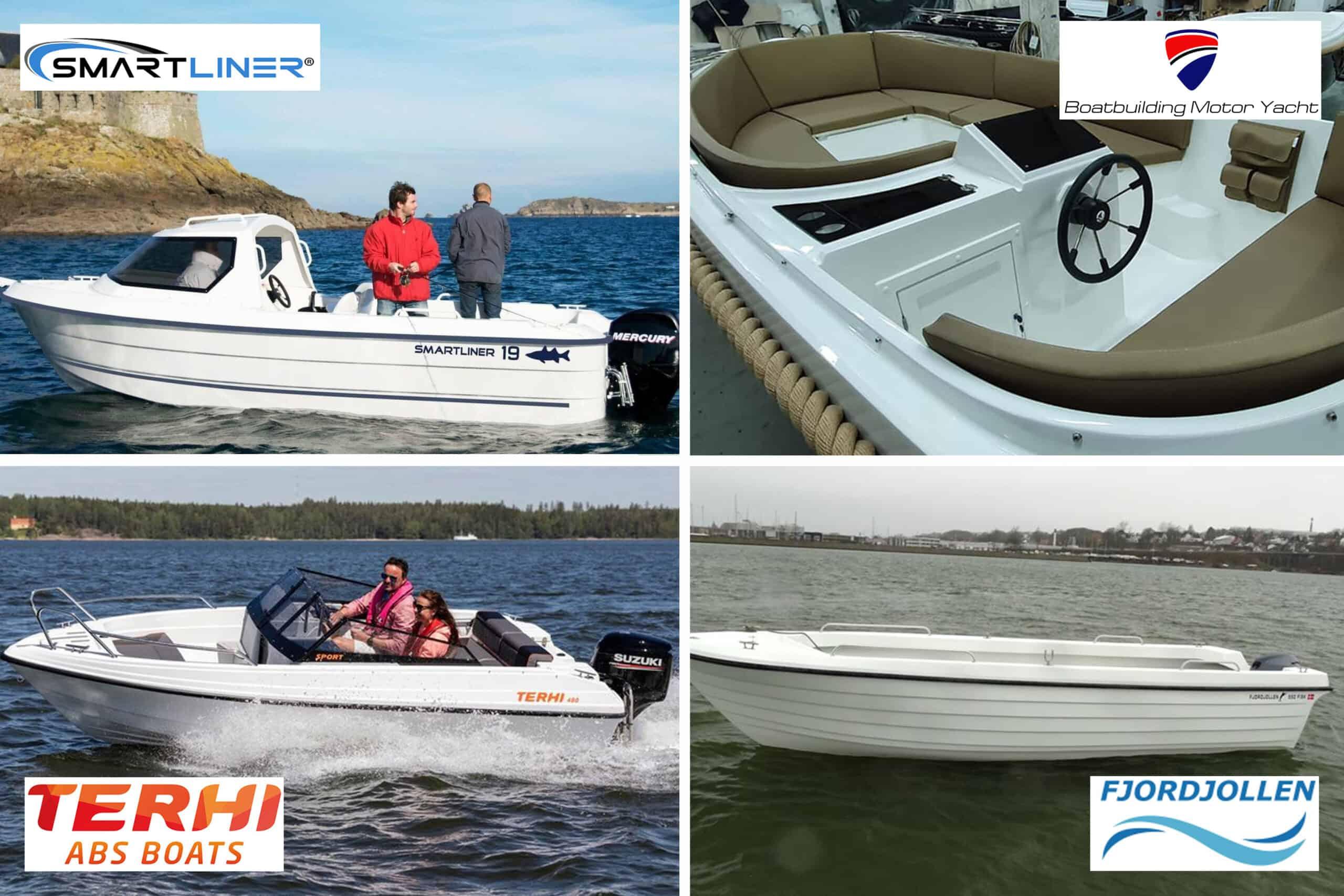 Nye både til salg